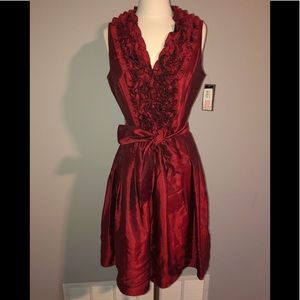 Red dress sz 12 - new with tags